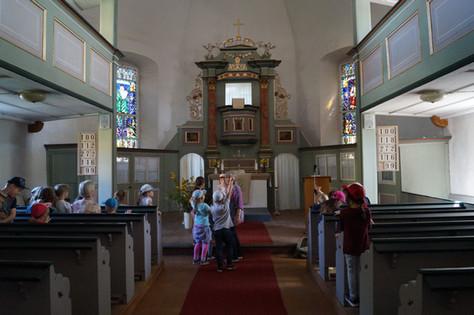 Wir entdecken unsere Kiliani - Kirche