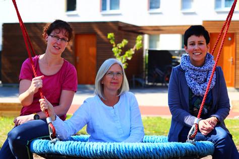 Anette Müller, Kathrein Schmidt, Katrin Vorhof (v.l.)