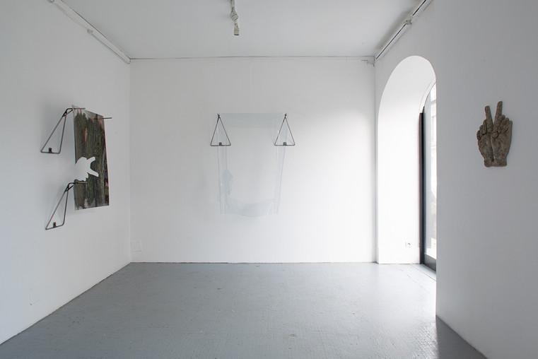 Vues de l'exposition, 1er espace