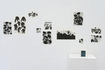 Sans titre, risographie Gros oeuvre, un mini-livre de coloriage