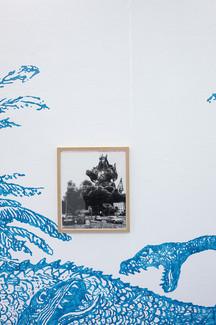 """Dragonzord (Lubrizol, Rouen), 2020."
