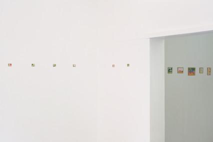 Vue d'exposition Sans titre, mini-formats