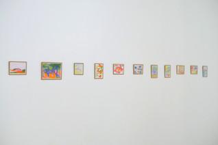 Cartes postales, risographie