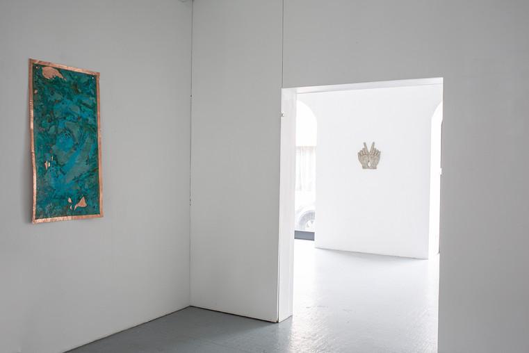 Vue de l'exposition, 1er espace