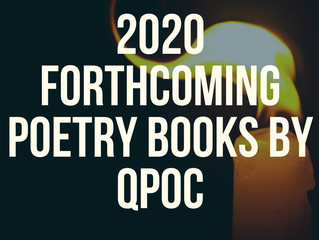2020 Forthcoming Poetry Books by Queer People of Color