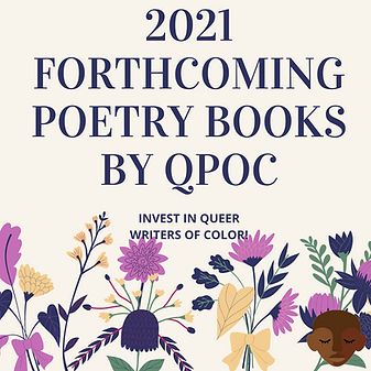 2021 FORTHCOMING POETRY BOOKS BY QPOC.pn