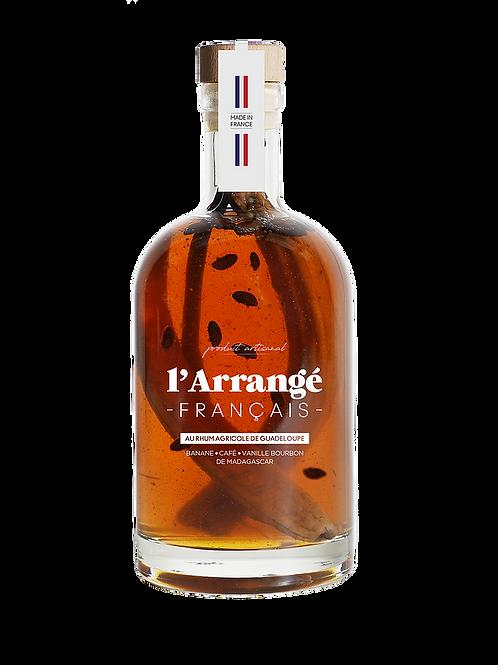 RHUM ARRANGE BANANE VANILLE CAFE - L'ARRANGE FRANCAIS