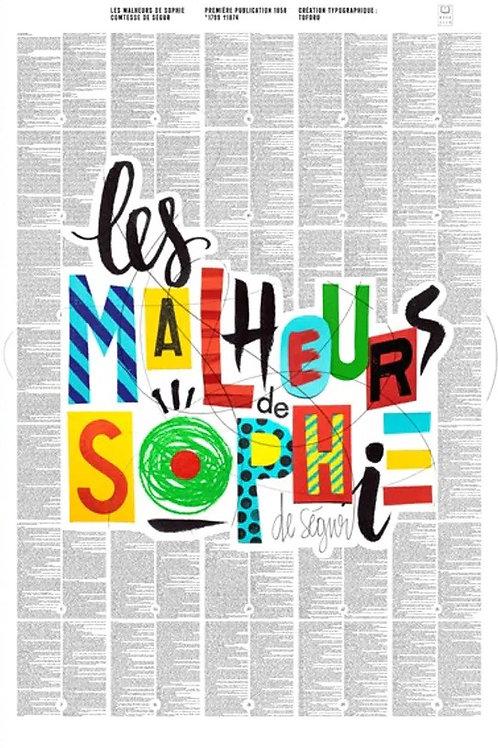 AFFICHE Les Malheurs de Sophie BOOKSTER