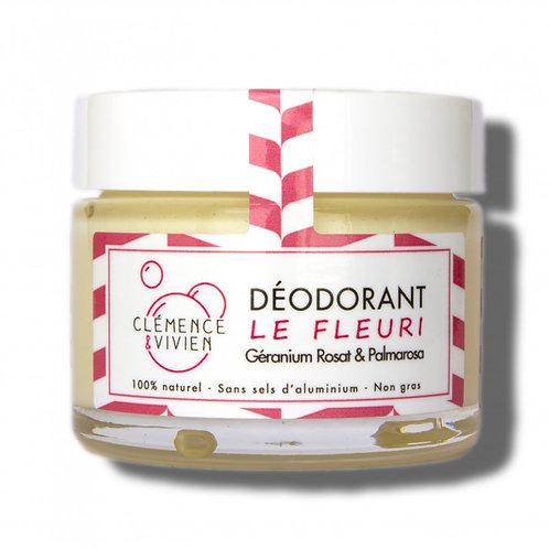 "DEODORANT NATUREL ""Le Fleuri"" CLEMENCE & VIVIEN"