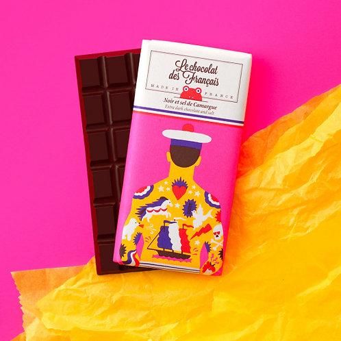 Tablette Chocolat Noir 71% Sel de Camargue Bio 80g