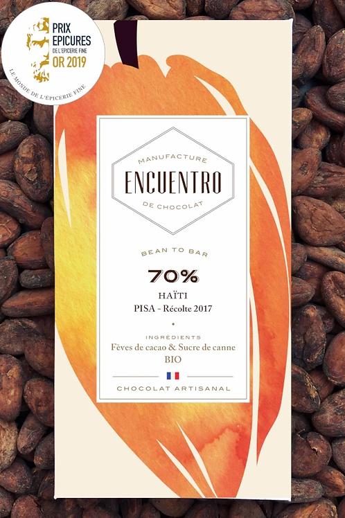 TABLETTE 70% HAITI