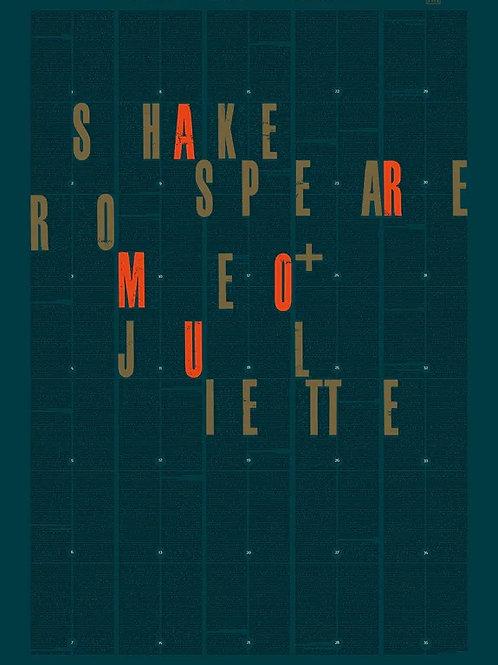 AFFICHE Roméo et Juliette BOOKSTER