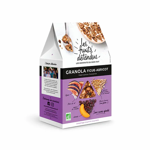 GRANOLA FIGUE ABRICOT 300G - LES FRUITS DETENDUS