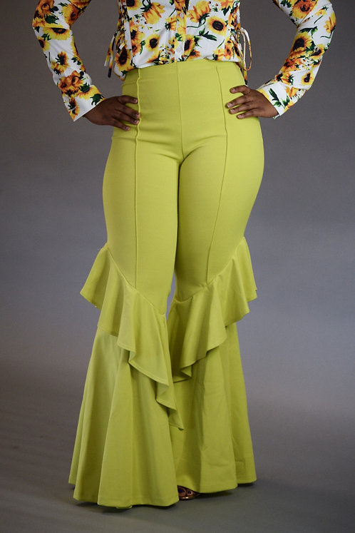 Kaamari Belle Pants (Lime)