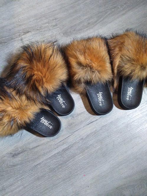 100% Fur Slides