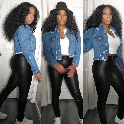 Jackie Faux Leather Pants