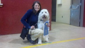 Emily with Casey Earn 1st Place at their 1st Rally Show