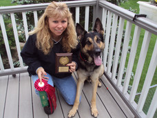 Chaos Earns His CDX title 2nd Place