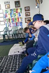 Puppy-Wuppy Educates the Cub Scouts