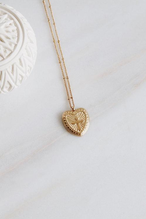Heartcross Necklace