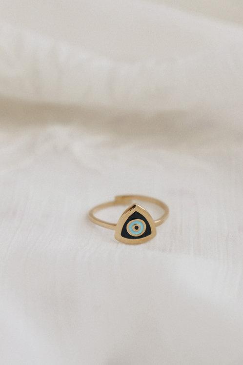 Aris Eye Black Ring