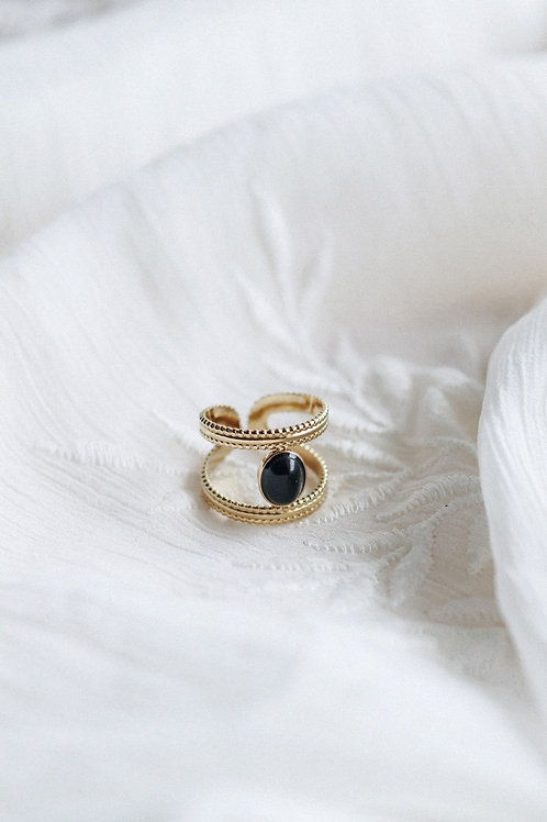 Black Aura Ring