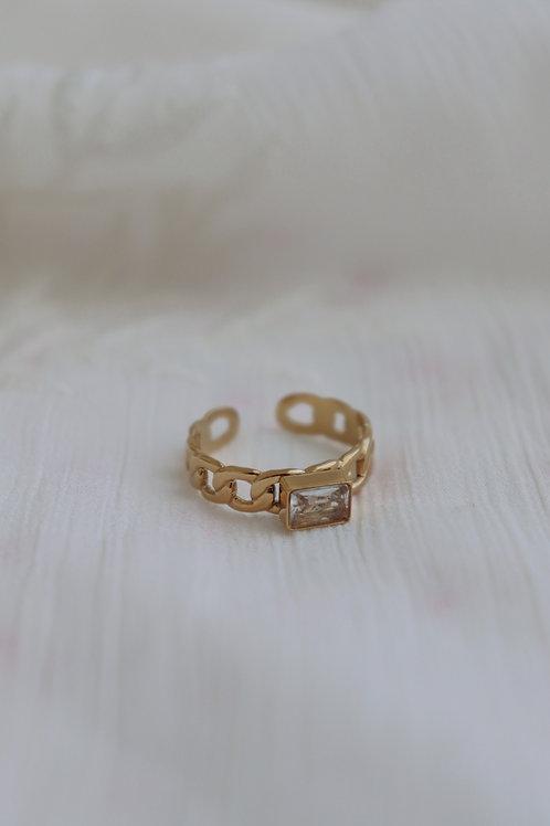 Baco Crystal Ring