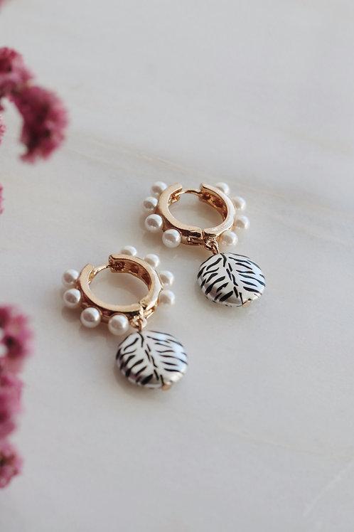 Mamba Pearl Earrings