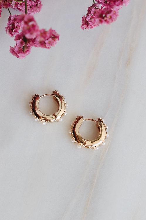 Aria Pearl Earrings