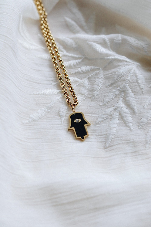 Black Aura Necklace