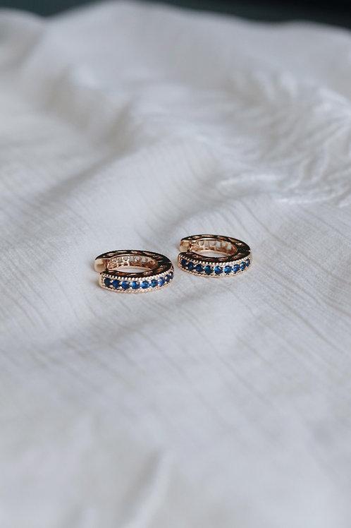 Cobalt Jade Earrings