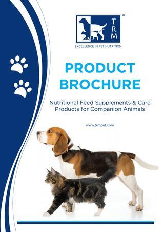 TRM Pets Brochure