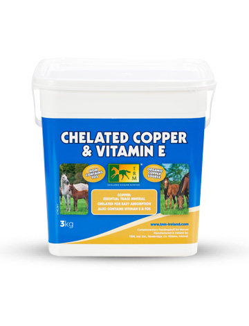NEU! CHELATED COPPER POWDER AND VITAMIN E