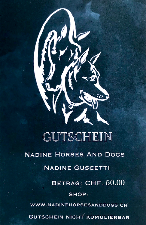 GUTSCHEIN CHF 50.-