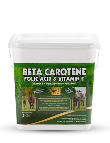 BETA CAROTENE FOLID ACID & VITAMIN E