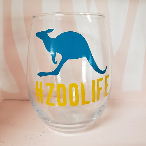 Zoo Life Glass Cups