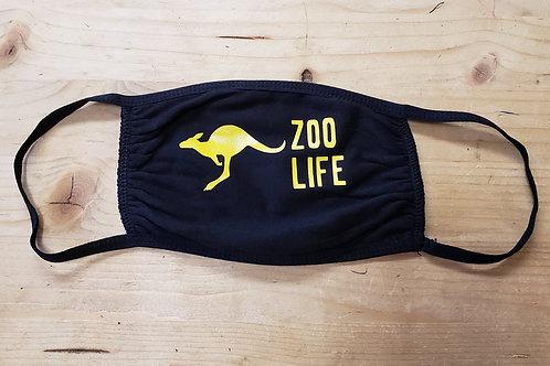 "Black ""Zoo Life"" Masks"