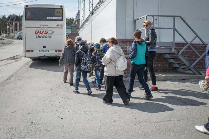 До «АиРовки» добрались туристы, приехавшие на первом туристическом поезде Челябинск-Златоуст.