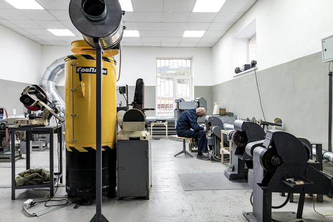 Мастер-классы «Нож своими руками» – теперь в новом помещении экспериментального участка Компании «Аи