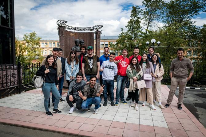 Иностранные студенты ЮУрГУ прошли социокультурную адаптацию в «АиРовке».