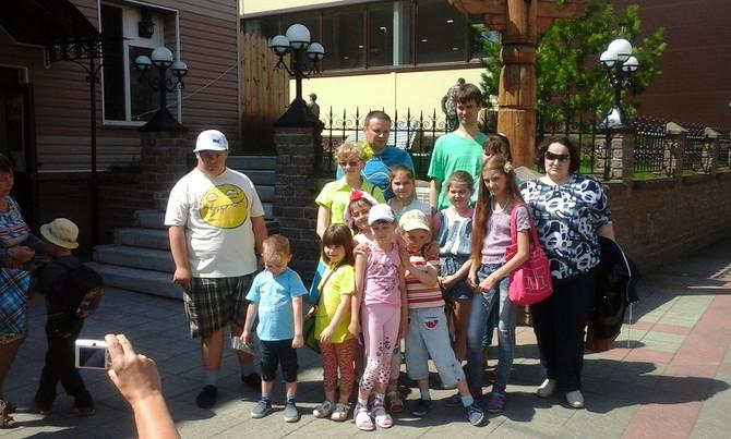 «АиРовка» радушно встретила детей из центра «Особый ребенок».