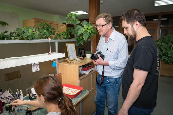 Предприятие «АиР» посетил редактор нидерландского журнала «European Blades Mag».