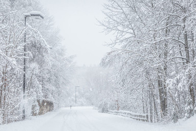 Mon cartier sous la neige