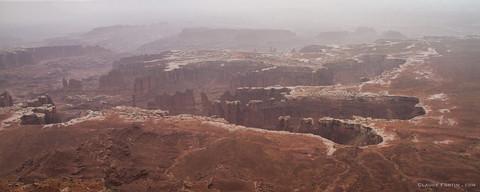 Canyonland dans l'Utah