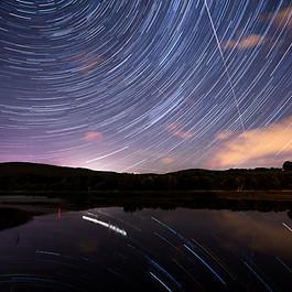 Star Trail / Mouvement apparent des étoiles