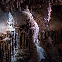 Caverne - Coulées de calcite