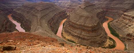 La rivière San Juan / Gooseneck State Park / Colorado