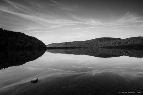 Lac Bellevue de la Réserve faunique de Portneuf