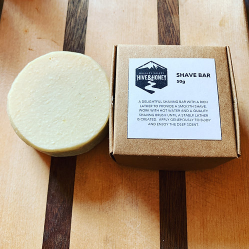 Hive and Honey Shave Bar