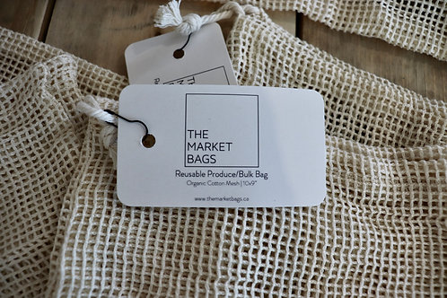 Small Reusable Mesh Bags